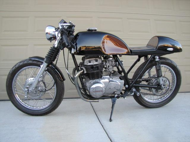 evil empire studio: kz440 kz 440 cafe racer