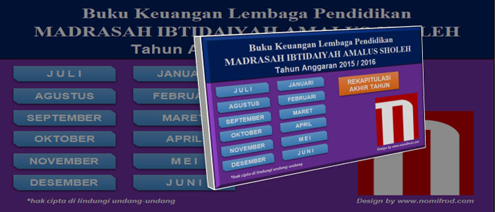 Update Aplikasi Buku Kas Umum / Keuangan Sekolah v2.00 Download Gratis