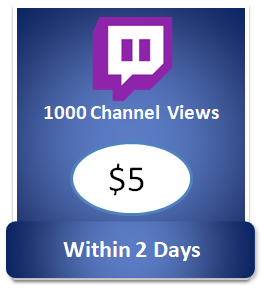 1000 twitch channel views, buy twitch followers cheap