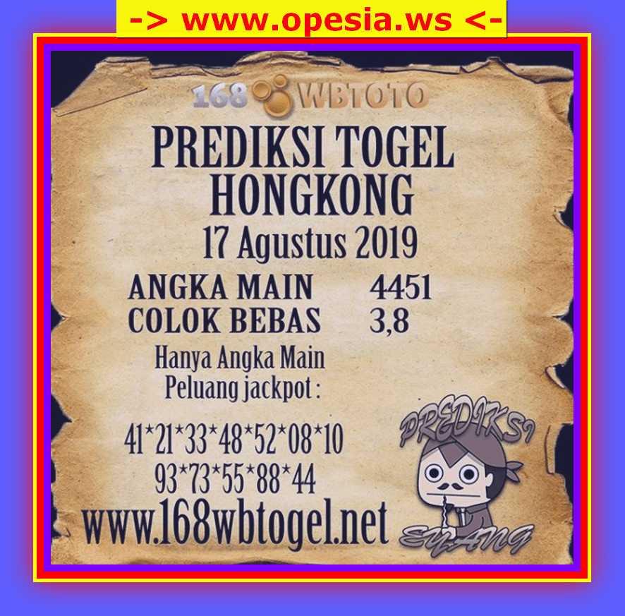 KODE SYAIR HONGKONG OPESIA