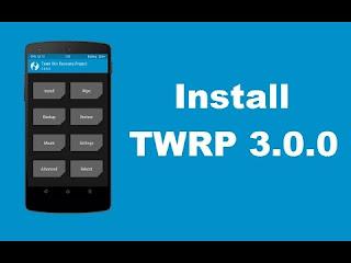 Tutorial Lengkap Cara Install TWRP Recovery di Xiaomi Redmi 3 / Pro