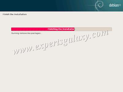 Debian Linux Finishing Installation