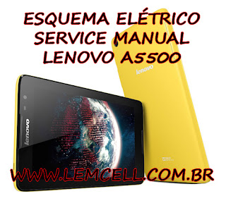 Esquema Elétrico Smartphone Celular Lenovo Idea Tab A8-50 A5500 Manual de Serviço Service Manual schematic Diagram Cell Phone Smartphone Lenovo IdeaTab A8-50 A5500