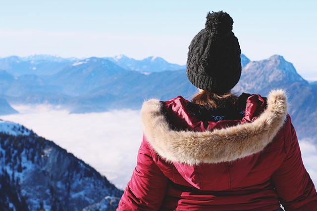 Untersberg in winter