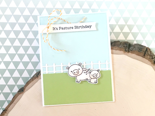 Handmade card by Heather Campbell featuring products from My Favorite Things #mftstamps