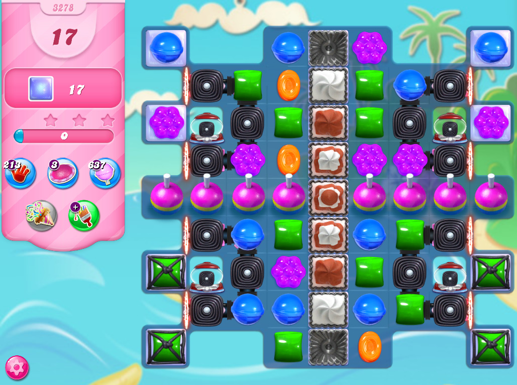 Candy Crush Saga level 3278