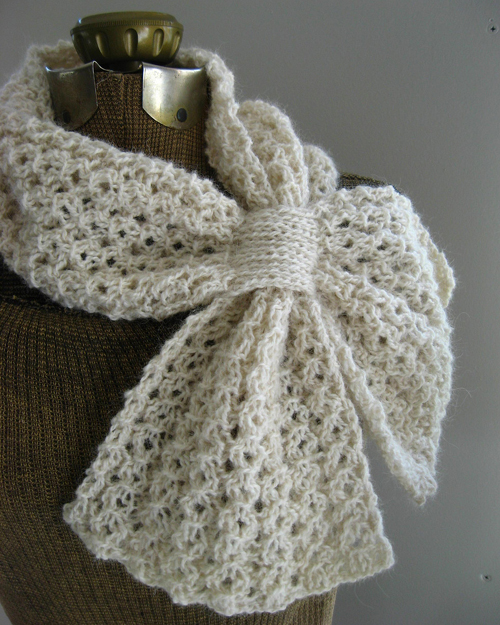 Loopy Lace Scarf - Free Pattern
