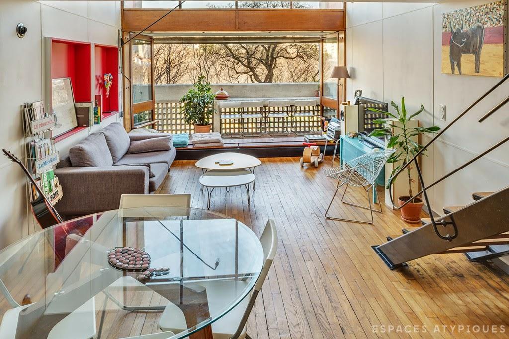 home garden la cit radieuse. Black Bedroom Furniture Sets. Home Design Ideas