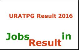 URATPG Result 2016