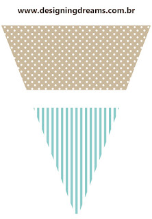 Teddy Bear for Boys Free Printable Bunting.