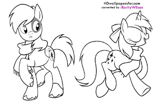 My Little Pony Friendship is Magic Dinky Hooves Coloring Pages