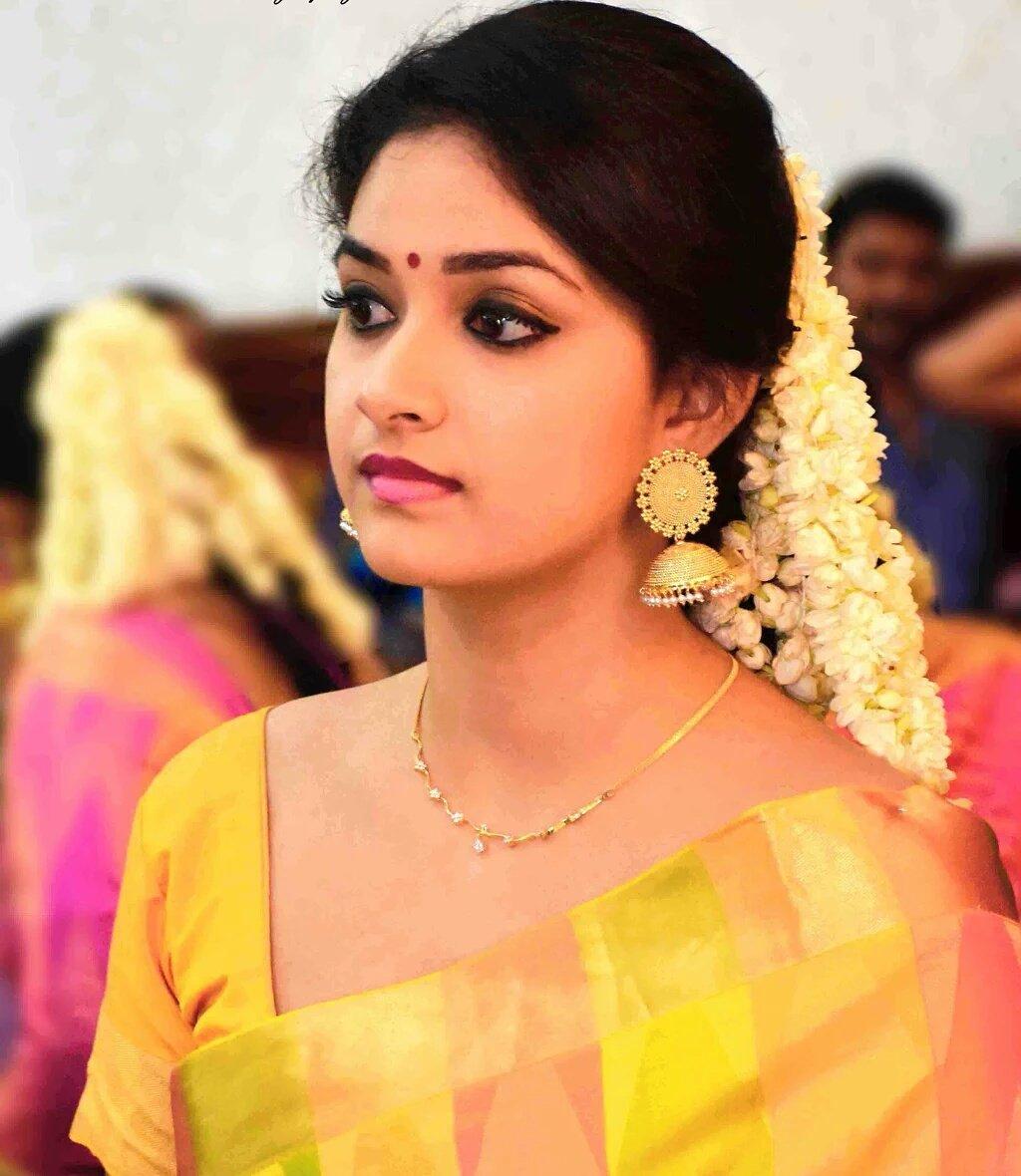 Keerthy Suresh Tamil Actress New Photos  Actress Rare -9657