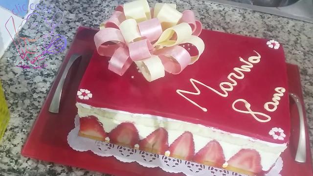 chocolat bow/ rose en chocolat