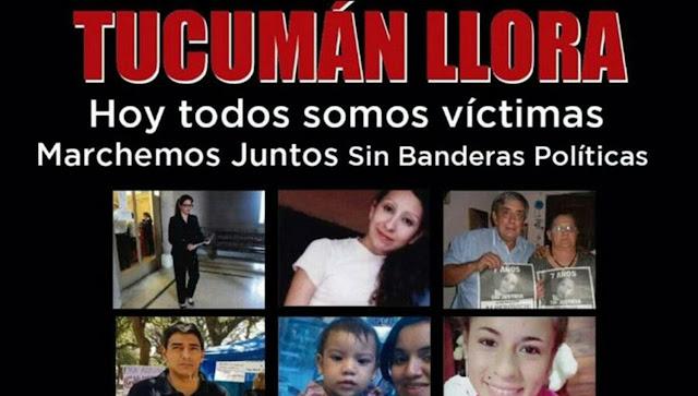 Tucumán marcha este martes para reclamar una Justicia Independiente #TucumanLlora