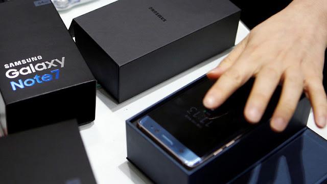 EE.UU. prohíbe los Samsung Galaxy Note 7 en los aviones