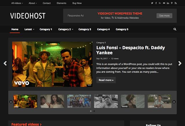 Chia sẻ theme video wprdpress miễn phí tuyệt đẹp