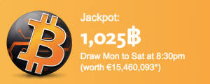 The World's First Bitcoin Lottery is Offering a 1,000 BTC Bounty