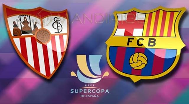 Prediksi Sevilla Vs Barcelona, Senin 13 Agustus 2018 Pukul 03.00 WIB