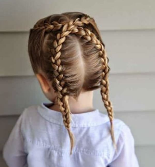 little white girl braids 2019