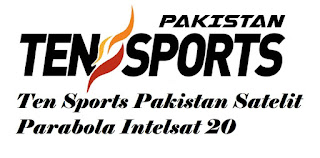 Frekuensi Ten Sports Pakistan Satelit Parabola Intelsat 20