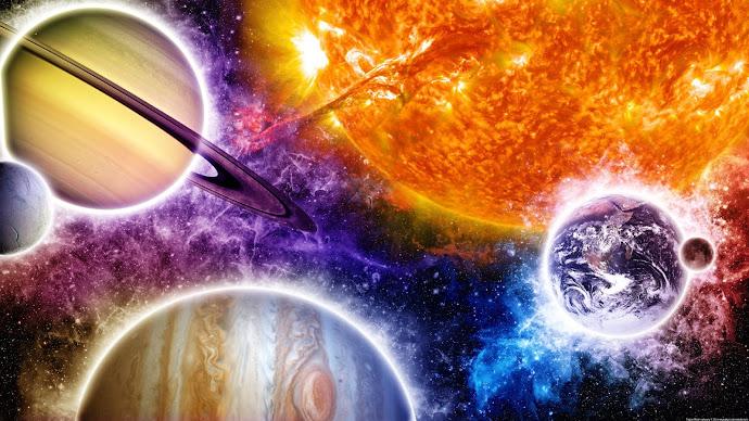 Wallpaper: Sunshine on Saturn