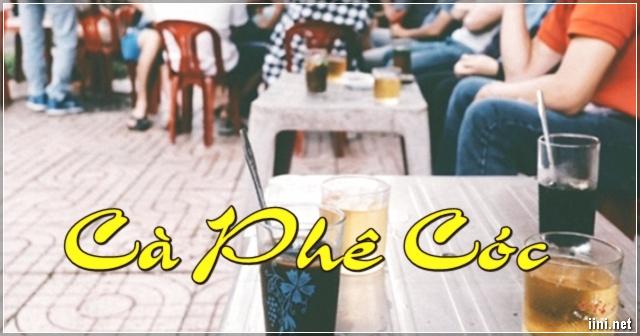 Cà phê cóc ở Sài Gòn