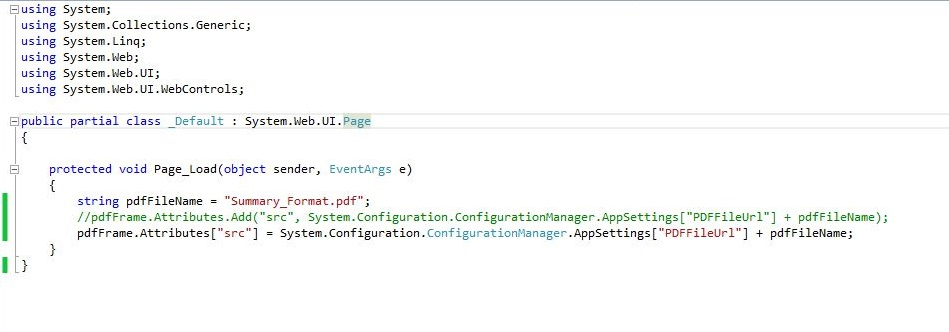 How to print pdf document or iframe in asp net | DotNet