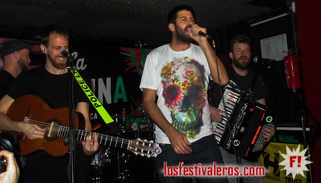 La Pegatina, Bar, Ahora o Nunca, Madrid