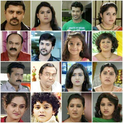 Actors and Actresses in Pranayam Serial