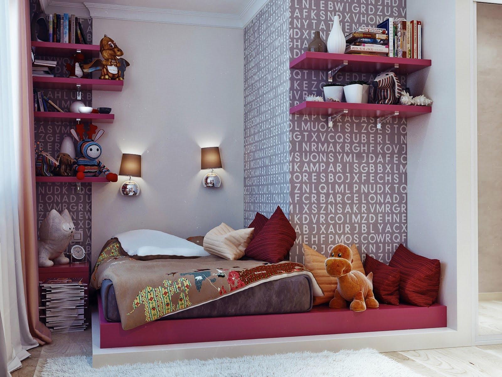 desain kamar tidur kost sempit   dekorhom