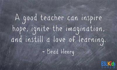 ESL Teaching Quotes, Brad Henry, Inspiration