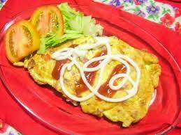 Cara membuat omelet telur keju sederhana
