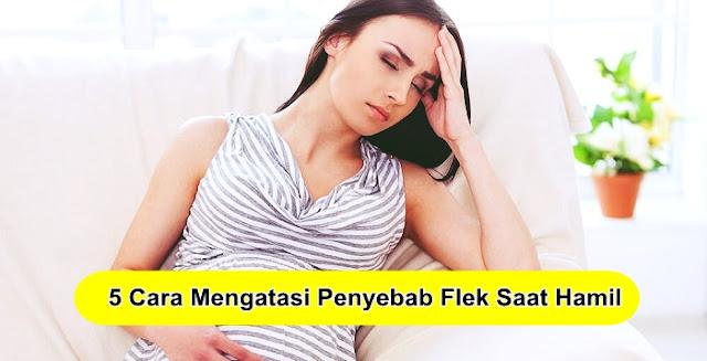 5 Cara Mengatasi Penyebab Flek Saat Hamil