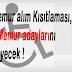 Memur alım Kısıtlaması, Engelli Memur adaylarını etkilemeyecek