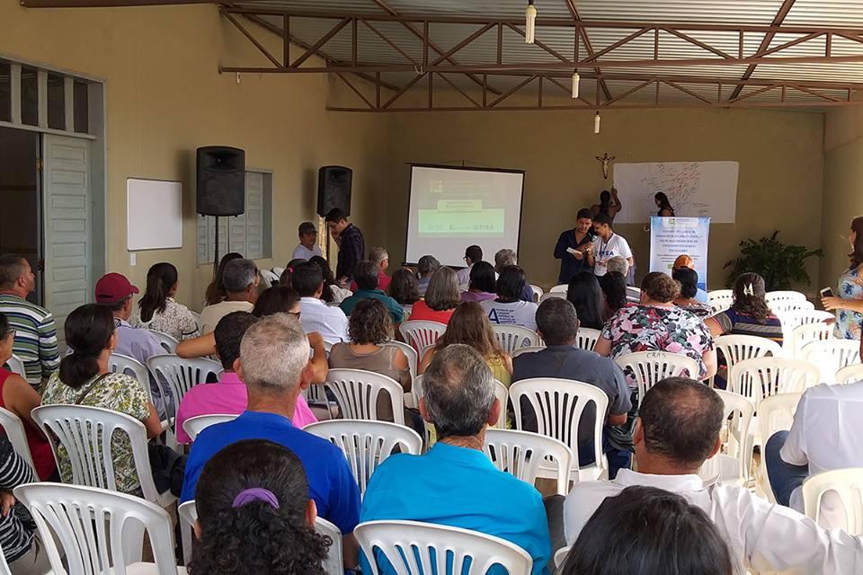 Guajeru realiza eventos para elaboração do Plano Municipal de Saneamento Básico