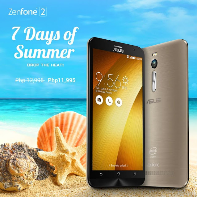 7 Days of Summer ZenFone Promo