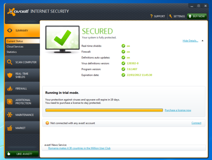 Serial Key Numbers And Crack : Download Avast Internet ...