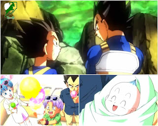 Vegeta remembering