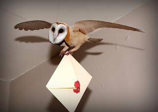 Harry Potter owl mobile