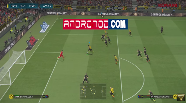 PES 2017 Versi 0.1.0 Beta Apk+Data For Android