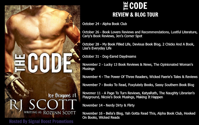 Blog tour for The Code