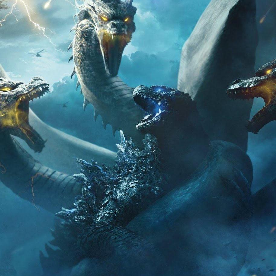 Godzilla : ハリウッド版「ゴジラ」シリーズの第2弾「キング・オブ・ザ・モンスターズ」のゴジラ VS.キングギドラのクールなロシア版のポスター ! !