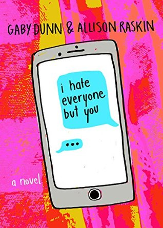 I Hate Everyone But You book cover