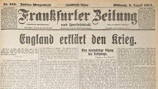 Inicio WWI en prensa