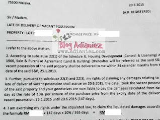 Bicara Peguam : Tempoh Liabiliti Kecacatan Rumah & Tuntutan Gantirugi Kelewatan (LAD)