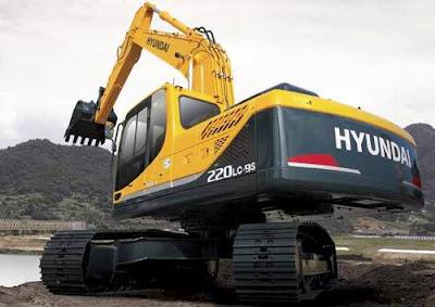 Hyundai R220LC-9SH Excavator service manual