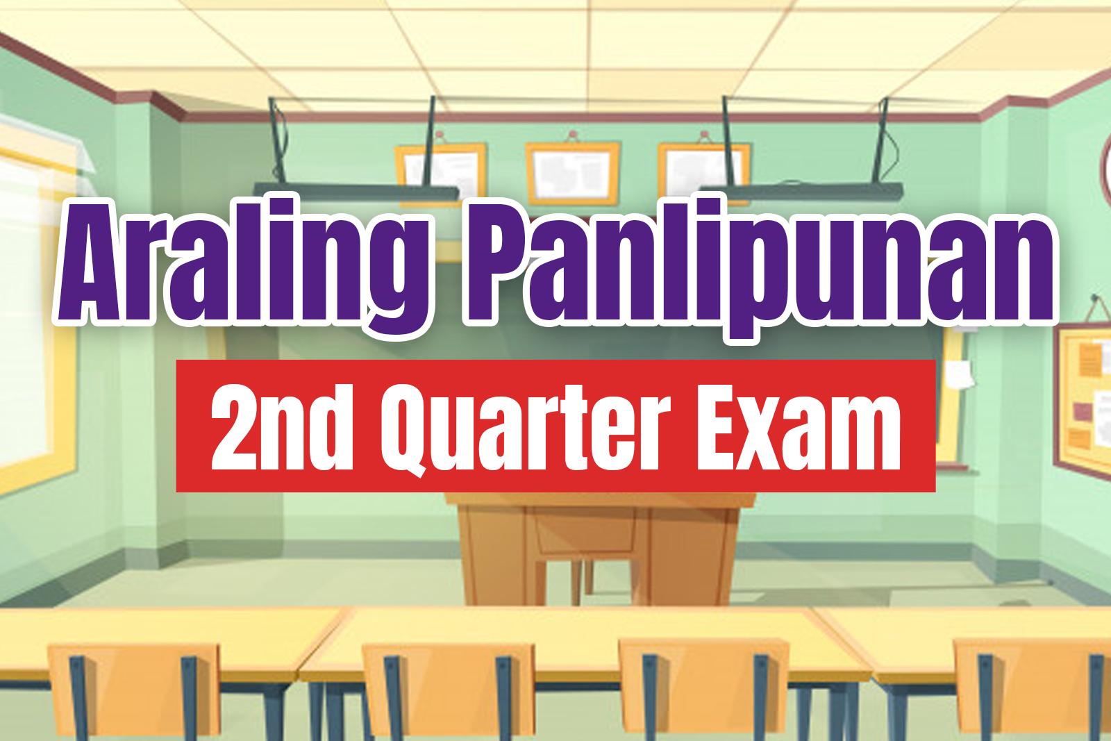 Araling Panlipunan 1 Second Quarter Examination With Tos