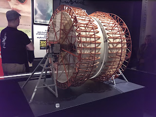 Centrifugal set model for 2001: A Space Odyssey