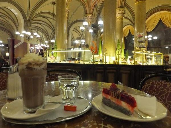 Vienne Wien café central