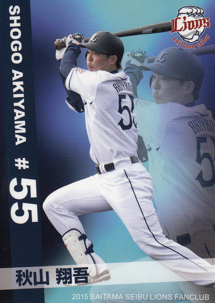 Japanese Baseball Cards 2015 Lions Fan Club Set